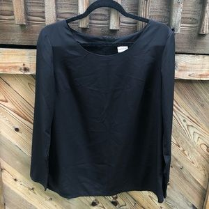 Merona Black Blouse - Size M